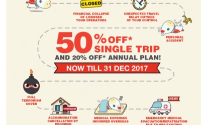 Sompo Travel 50% discount is here agian !