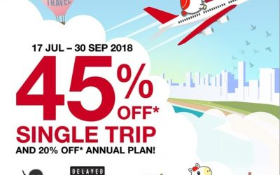Sompo 45% till 30th Sept 18